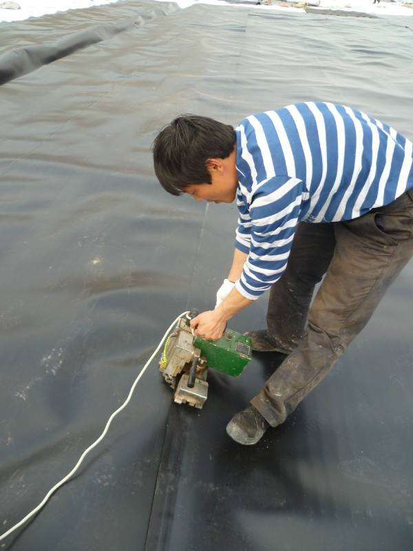 how to weld geomembrane