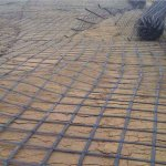 geogrid used in road building