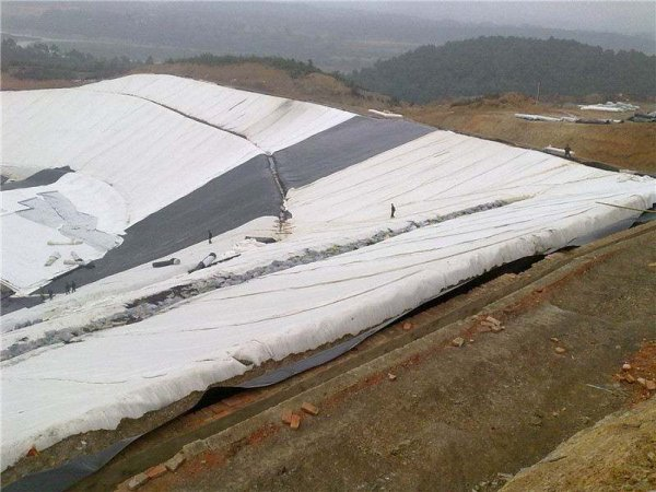 geotextile used in landfill